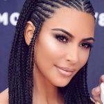Kim Kardashian Rocks African Braids to the MTV Movie and TV Awards (photos)