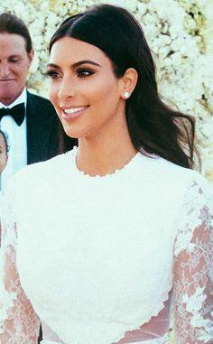 Kim Kardashian's Wedding Day Lip Color (Get the Look)