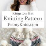 Kingston Hat Knitting Pattern