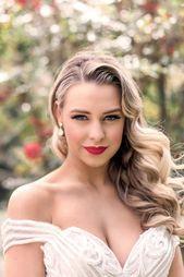 Klassische Hochzeit Haar und Make-up-Ideen  Wedding Makeup #hair #hairmakeup #ha…