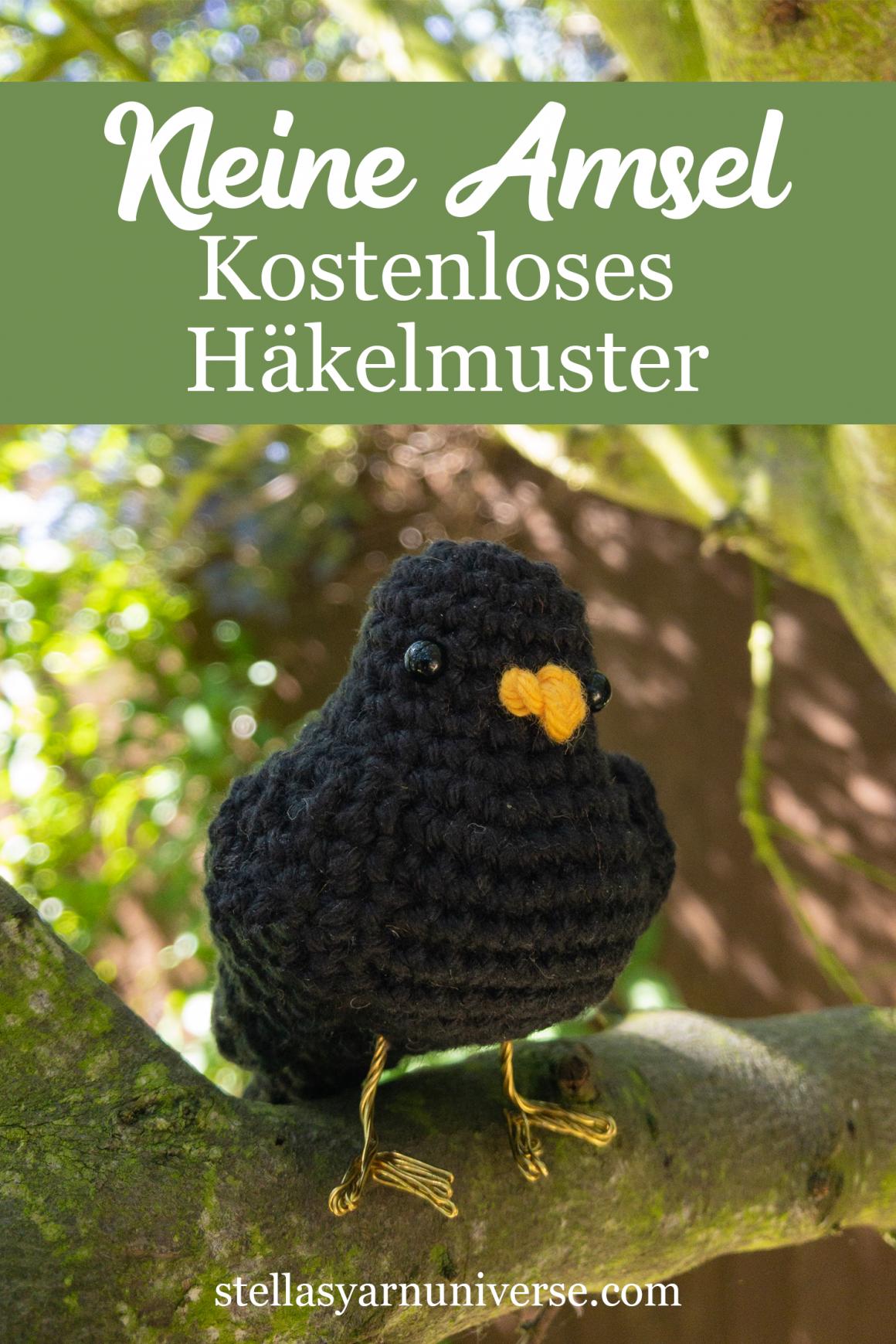 Kleiner Vogel – Kostenloses Häkelmuster