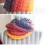 Knit Dragon Wing Cowl