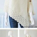 Knit Look Crochet Poncho Free Pattern – Your Crochet - Knitting Bordado