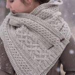 Knitting Pattern for A Walk Through Aspens Scarf
