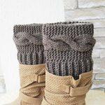 Knitting Pattern for Women  Boot Cuffs Digital  Boot Toppers  PATTERN  winter knitting   Leg Warmers   Pattern Boot Topper Instantdownload