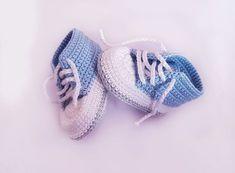 Kostenlose Häkelanleitung Babyschuhe für Neugeborene!