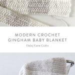 Kostenlose Muster - Modern Crochet Gingham Babydec... - #Babydec #crochet #Gingh...
