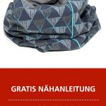 Kostenlose Nähanleitung: Schlauchschal / Loop nähen