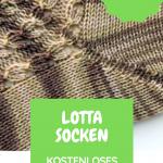 """Kostenloses Strickmuster Socken """"Summer Sneakers No. 1"""" Lotta"""
