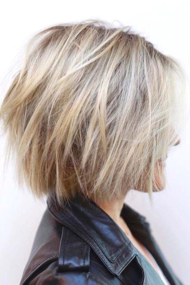 Kurze geschichtete Frisuren, die Sie einfach nicht verpassen können ? Weitere: …