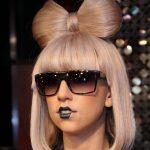 Lady Gaga Hairstyle Bow