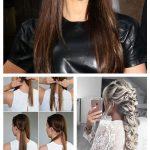 Lange glatte Haarschnitte mit Pony-Bildern ~ lockige Frisuren #FrisurenfrdenAbsc...