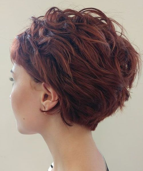 Latest Pics of Short Hairstyles for Thick Hair – short-hairstyless.com
