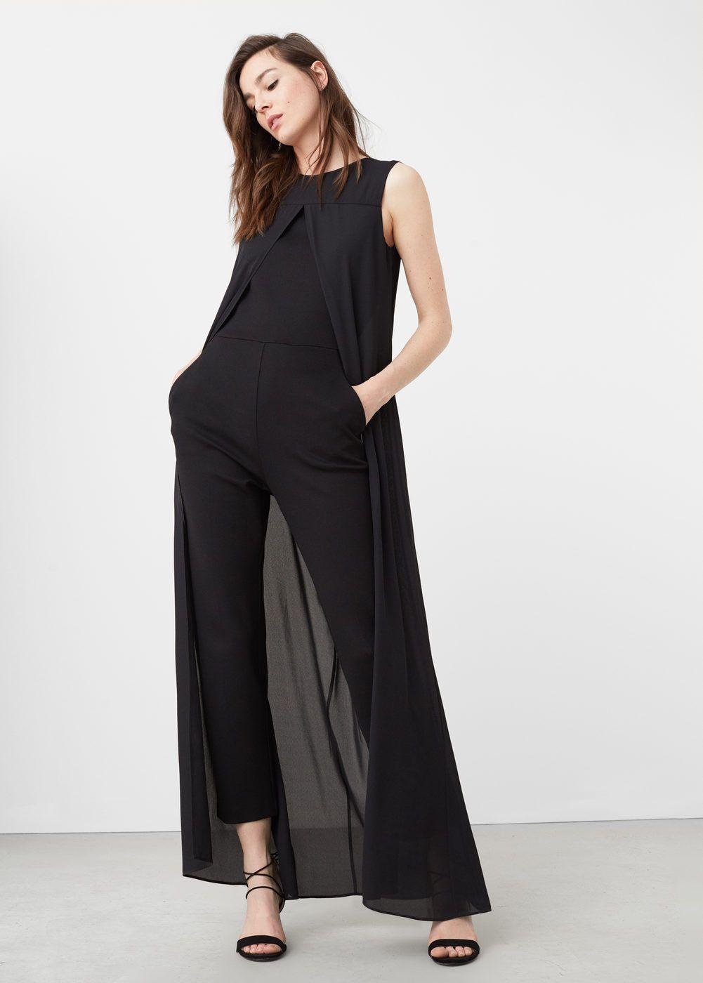 Layer jumpsuit –  Women | Mango United Kingdom