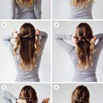 Leichte Hochsteckfrisuren für mittellanges Haar - Frisuren