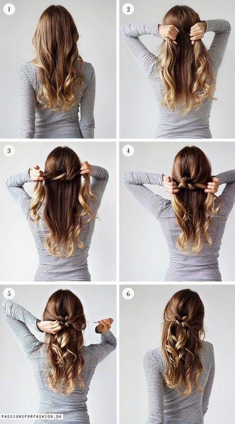 Leichte Hochsteckfrisuren für mittellanges Haar – Frisuren