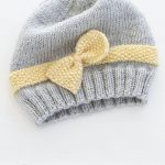 Little Miss Ribbons Mittens / DROPS Baby 31-11 - The set consists of: Knitted ba...