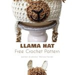 Llama Hat Free Crochet Patterns