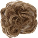 Longday hair bun extensions messy hair scrunchies hair pieces women hair donut updo ponytail easy to wear curly hair