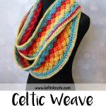 Lucky Celtic Infinity Scarf - Free Crochet Pattern