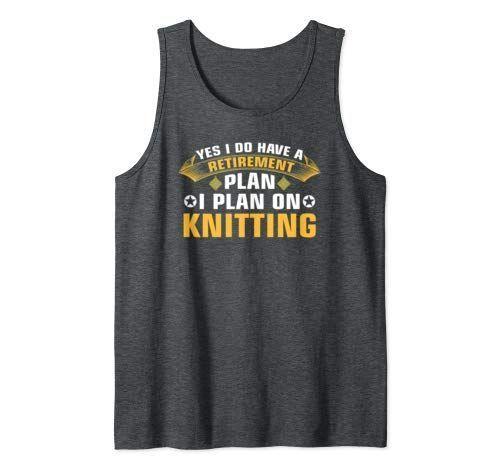 Lustig Stricken Ruhestand Häkeln Nähen Quilter Tank Top Männer #crochettanktop …