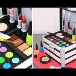 MAKE UP Cosmetics Box Cake *Pastel Caja De Maquillaje by Cakes StepbyStep
