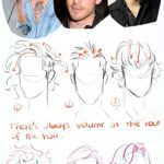 Magical New Style Drawing Tutorial Sketch Hair Reference Concepts