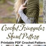 Make a Hooded Triangular Shawl