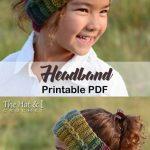 Make a cozy headband. headband crochet pattern- ear warmer crochet pattern pdf -... - Hetty J.