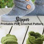 Make a pair of cozy slippers. slipper crochet patterns - crochet pattern pdf - h...