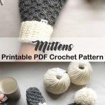 Make a pair of mittens - mittens crochet pattern- crochet pattern pdf - amorecra...