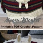Make an alpaca blanket. Blanket Crochet Patterns – Make a Cozy Throw - A More ...