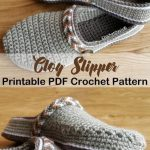 Make these clog slippers -slipper crochet patterns