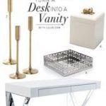Makeup vanity diy decor organization ideas 36 ideas - #decor #diy # vanity # ideas #makery