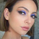 Maquillaje de Fantasia en Tonos Azules para Chicas Atrevidas