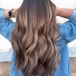 Melted Chocolate Caramel Hair Color Highlight for 2019