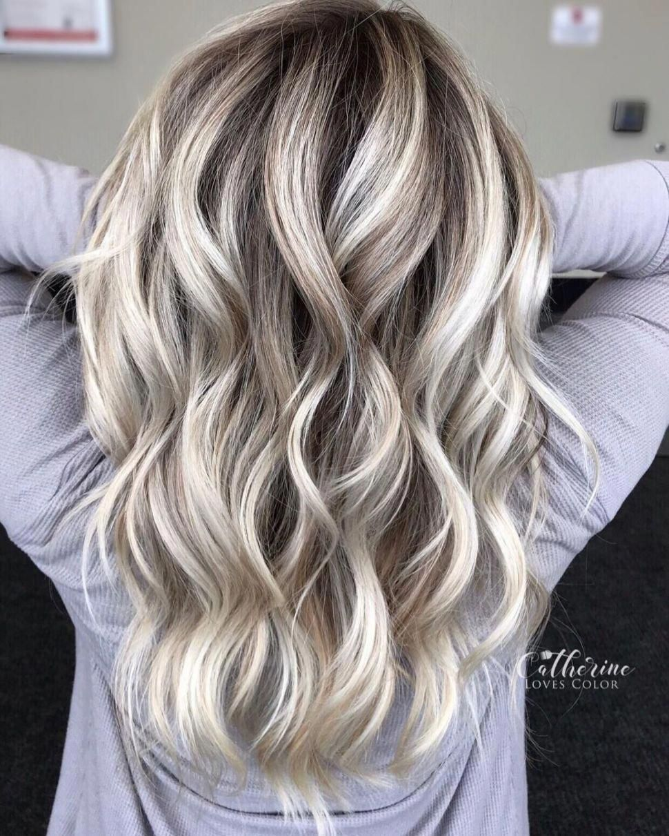 Mid-Back Cut with Subtle Layers #haircolorbalayage