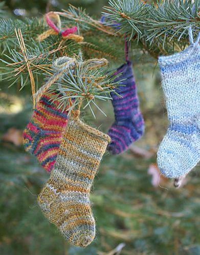 Mini Socks pattern by Classic Elite
