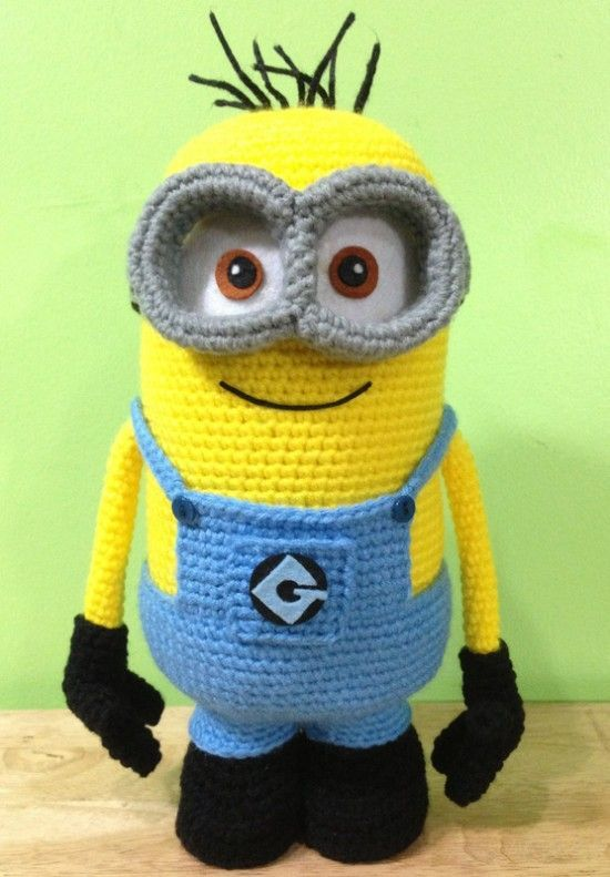 Minions are in the House! They're yellow, they love bananas, and they glow in …