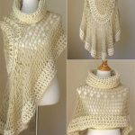 "Miracle Angel Crochet Poncho Scarf Free. This beautiful project has a name ""Beige Bohemian Poncho"", supposedly.This extremely beautiful poncho. Unfortunately, when we tried to figure out the source free pattern we can't find it. But it has several realizations therein with the tutorials, video, and pictures. Both we presented. Enjoy"
