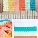 Modern Gender Neutral Crochet Baby Blanket - Free Pattern!