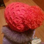 Mütze für Mädchen - Kostenlose Strickmuster