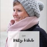 Mütze mit Büschelmaschen häkeln | DIY Geschenk