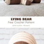 Naptime Bear Free Crochet Patterns