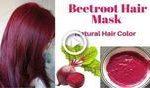 Natürliche Rote-Bete-Haarmaske | Holen Sie sich langes seidiges weiches & glatt...