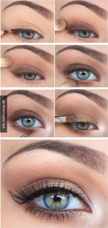 Natürliches Augen-Makeup:   Zeitbedarf – Suzy's Fashion