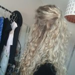 Naturally curly hair hairstyle