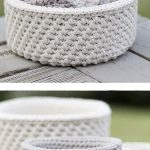 Nautical Basket Crochet Free Pattern - letscrochet