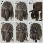 Neat simple promenade coiffure tutorials for women with brief hair The submit simple promenade