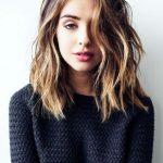 Neue Frisurideen für mittellanges Haar
